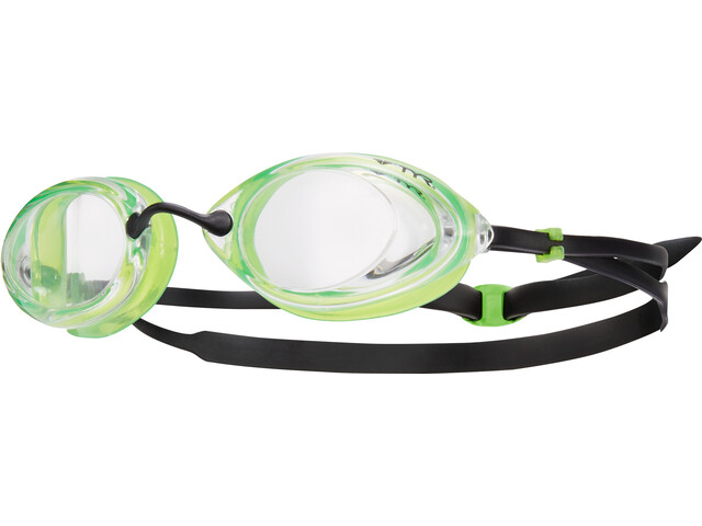 TYR Tracer Racing Goggles, clear/green